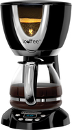 iCoffee - Steam Brew 12-Cup Coffeemaker - Black