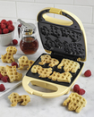 Nostalgia Electrics - Circus Animal Waffle Maker - Yellow