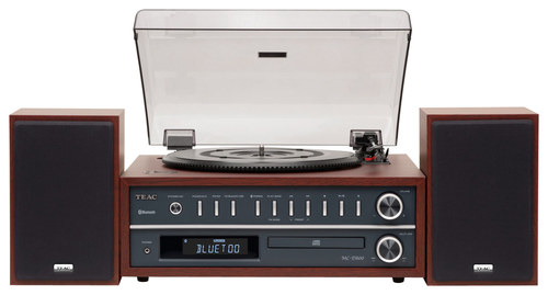 Teac - Bluetooth Turntable - Cherry (Red)