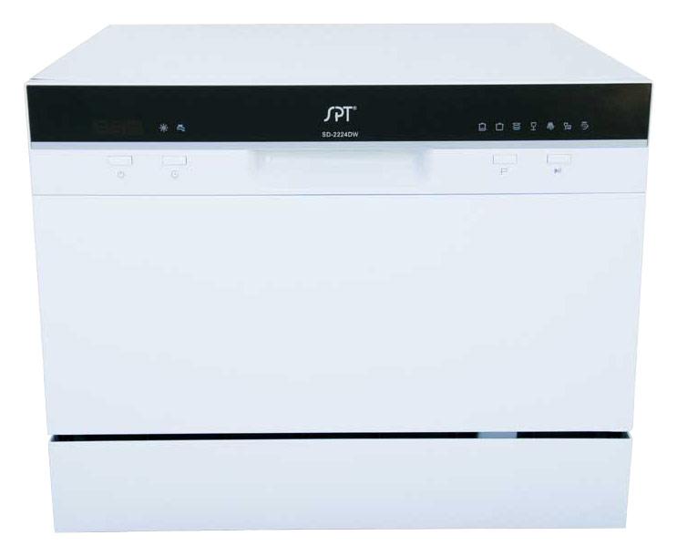 SPT - 22 Tabletop Portable Dishwasher - White
