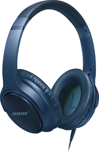 Bose® - SoundTrue® Around-Ear Headphones II (Samsung and Android) - Navy Blue