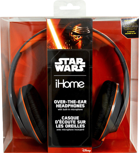 KIDdesigns - Star Wars Episode VII Over-the-Ear Headphones - Black