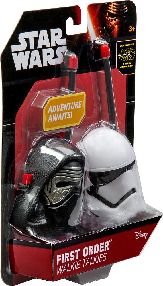 eKids - Star Wars Episode VII 2-Way Radios (Pair) - Red/White
