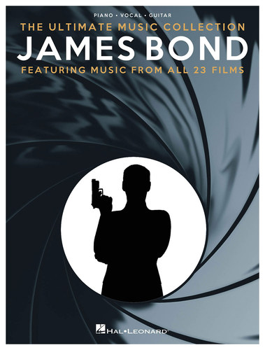 Hal Leonard - James Bond: The Ultimate Music Collection Songbook - Black/White