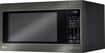 LG - 2.0 Cu. Ft. Mid-Size Microwave - Black Stainless Steel