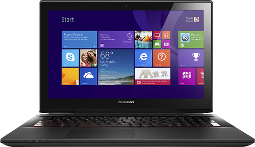 Lenovo - Geek Squad Certified Refurbished 15.6 Touch-Screen Laptop - Intel Core i7 - 8GB Memory - 1TB Hard Drive - Silver