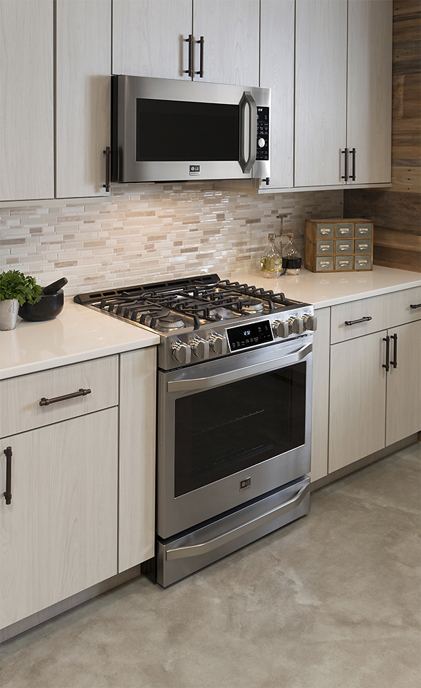 ft gas slidein range with probake convection stainless steel at pacific sales