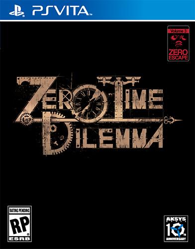 Zero Time Dilemma - PS Vita