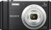 Sony - DSC-W800 20.1-Megapixel Digital Camera - Black