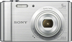 Sony - DSC-W800 20.1-Megapixel Digital Camera - Silver