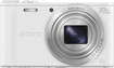 Sony - DSC-WX350 18.2-Megapixel Digital Camera - White
