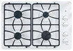 Click here for GE JGP333DETWW 30 White Gas Sealed Burner Cooktop prices