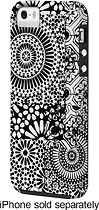 Case-Mate - Geo Print Case for Apple® iPhone® 5 and 5s - Black/White
