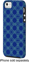 Case-Mate - Geo Print Case for Apple® iPhone® 5 and 5s - White/Blue/Green