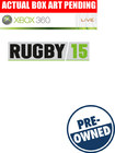 Rugby 15 - PRE-OWNED - Xbox 360