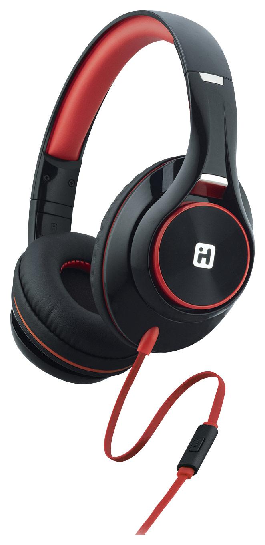 iHome IB42BRC Over-the-Ear Headphones Black