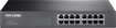TP-LINK - 16-Port 10/100/1000 Mbps Gigabit Ethernet Switch - Black