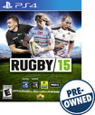 Rugby 15 - PRE-OWNED - PlayStation 4