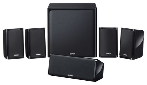 Yamaha - 500W 5.1-Ch. 3D / Smart Home Theater System - Black