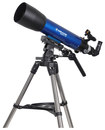 Meade - Infinity 102mm Altazimuth Refractor Telescope - Blue/Black