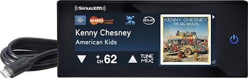SiriusXM - Commander Touch Satellite Radio Receiver - Black