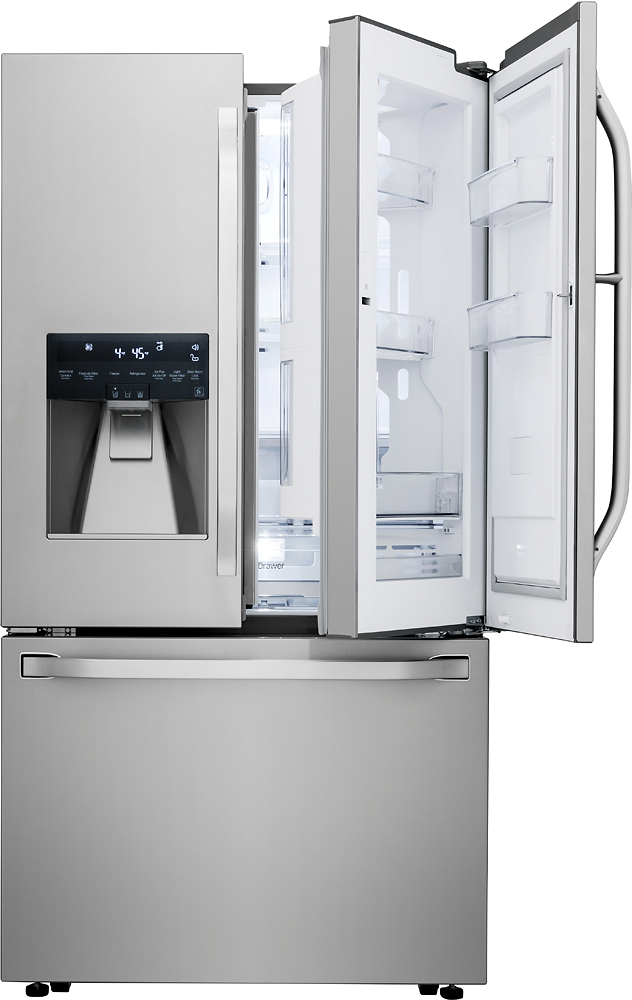 Ft. French Door In Door Counter Depth Smart Wi Fi Enabled Refrigerator    Stainless Steel At Pacific Sales