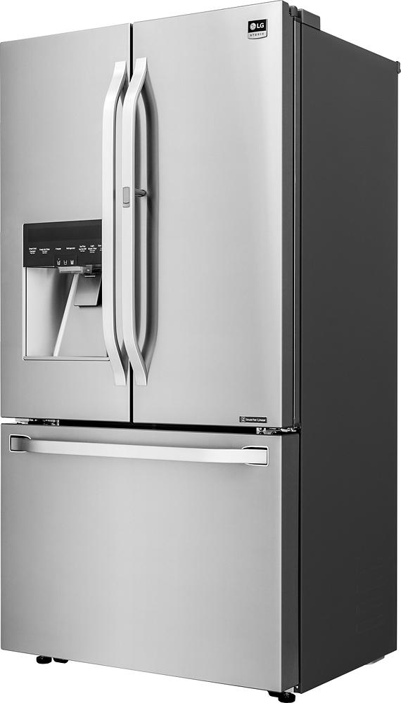 Ft. Door-in-Door Counter- Depth French Door Refrigerator - Stainless steel at Pacific Sales & LG - Studio 23.5 Cu. Ft. Door-in-Door Counter- Depth French Door ... Pezcame.Com