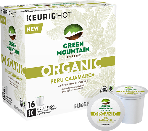 Keurig - Green Mountain Organic Peru Cajamarca K-Cups (16-Pack) - Multi