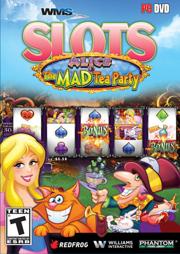 WMS Slots: Alice & The Mad Tea Party - Windows