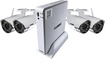 Lorex - 4-Channel, 4-Camera Indoor/Outdoor Wireless DVR Security System - White