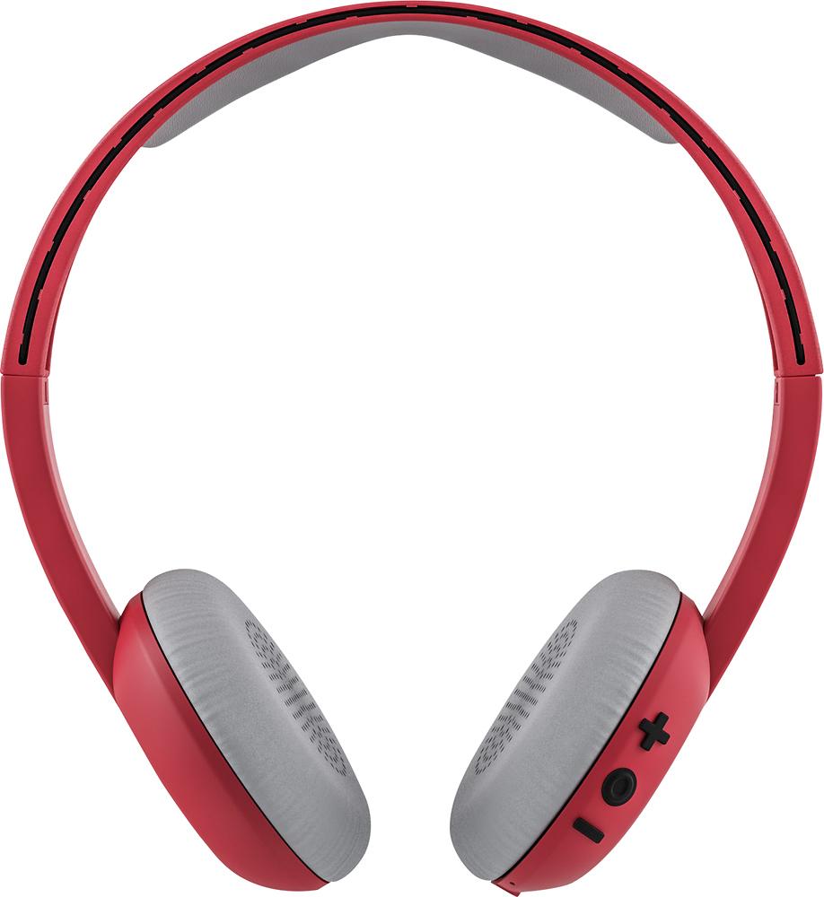 Skullcandy - Uproar Wireless On-ear Headphones - Red