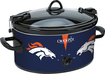 Crock-Pot - Cook and Carry Denver Broncos 6-Qt. Slow Cooker - Navy
