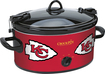 Crock-Pot - Cook and Carry Kansas City Chiefs 6-Qt. Slow Cooker - Red