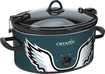 Crock-Pot - Cook and Carry Philadelphia Eagles 6-Qt. Slow Cooker - Green