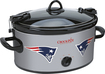 Crock-Pot - Cook and Carry New England Patriots 6-Qt. Slow Cooker - Gray
