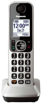 Panasonic - KX-TGFA30S Dect 6.0 Cordless Expansion Handset for Panasonic KX-TGF375S Expandable Phone Systems - Silver