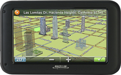 Magellan - RoadMate 5322-LM 5 GPS with Lifetime Map Updates - Black