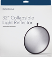 Insignia™ - 32 Collapsible Light Reflector - White/Silver