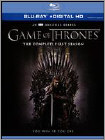 Game of Thrones: The Complete First Season (Blu-ray Disc) (Boxed Set) (Eng/Fre/Spa)