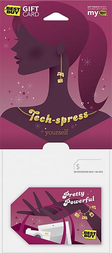 Best Buy Gc - $50 Tech-spress Yourself Gift Card - Multi