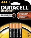 Duracell - AAA Batteries (4-Pack)