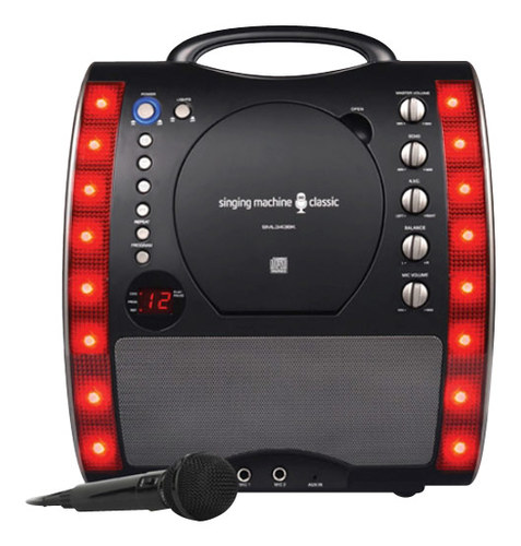 Singing Machine - Cd+g Karaoke System - Black