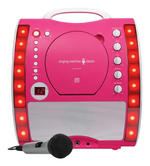 Singing Machine - Classic Cd+g Karaoke System - Pink