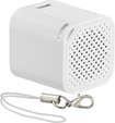 Insignia - Portable Bluetooth Selfie Speaker - White