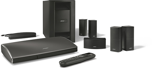 Bose® - Lifestyle® SoundTouch® 525 Entertainment System - Black