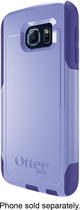 OtterBox - Commuter Series Case for Samsung Galaxy S6 Cell Phones - Periwinkle Purple/Liberty Purple
