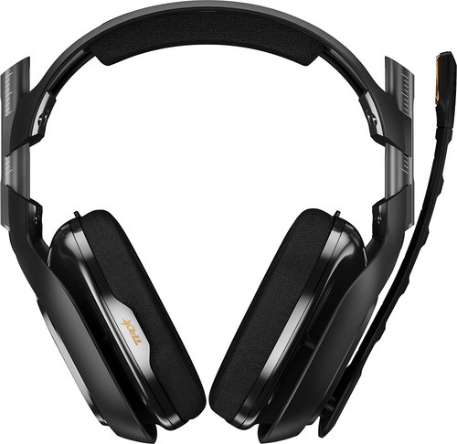 Astro Gaming - A40TR Wired Surround Sound Gaming Headset PlayStation 4, PlayStation 3 and Windows - Black