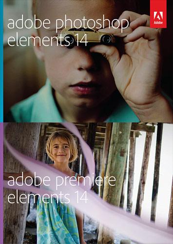 Adobe ADO951800F034 Photoshop Elements 14 and Premiere Mac