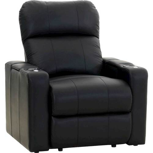Octane Seating - Turbo XL700 Power Recliner - Black
