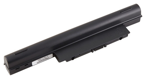 DENAQ - Lithium-Ion Battery for Select Acer Laptops - Black